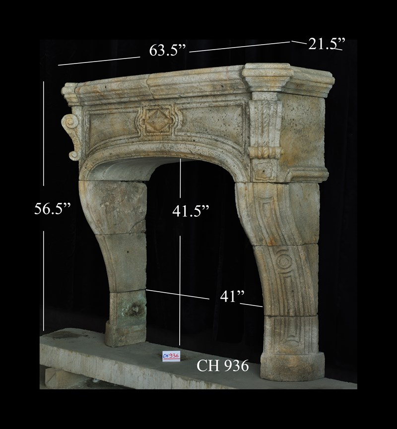 Architectural Stone Decor Fireplace Mantels